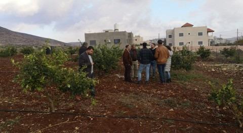 Visita técnica CENTA Palestina marco proyecto MENAWARA