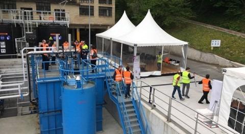 Ahlstrom-Munksjö inaugura depuradora fábrica Berastegi, tecnología Veolia