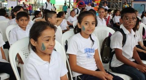 Niñas y niños celebraron Día Mundial Lavado Manos