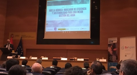 IAHR-SPAIN WATER, colaboración ESAgua, organizan jornada Huella Hídrica