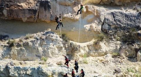 embalse Puentes, escenario gran simulacro desastres naturales