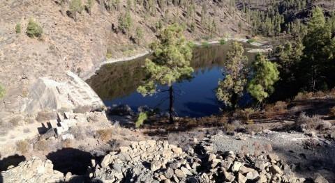 Otra pirámide hidráulica inacabada Gran Canaria: Presa Escusabarajas