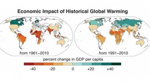 cambio climático agrava desigualdad económica mundial 1960