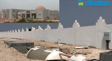 DINOTEC ofrece soluciones compactas depuración agua hospital Mauritania