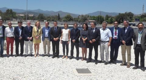 Inaugurada ampliación estación depuradora Guadalmansa-Estepona Málaga