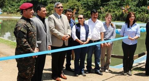 Gobierno Guatemala inaugura segunda planta tratamiento aguas residuales 7 meses