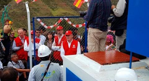 Inaugurado nuevo sistema agua y saneamiento Picotayoc Cusco, Perú