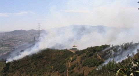 ser humano y cambio climático, contribución par riesgo incendio forestal