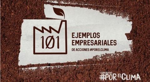"""HUELLA POSITIVA +"", seleccionado como 101 ejemplos empresarial #AcciónPorElClima"