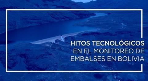 Hitos tecnológicos monitoreo embalses Bolivia