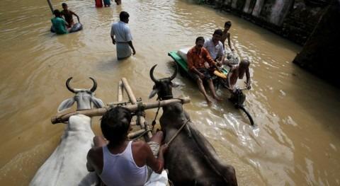 inundaciones provocadas monzón elevan 180 muertos India, Nepal y Bangladés