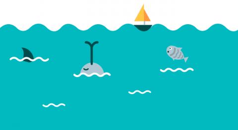 Educación ambiental: infografía mostrar qué es ciclo agua