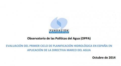 Portada del informe de la FNCA