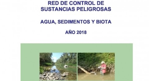 Publicado informe anual 2018 control sustancias peligrosas Cuenca Ebro