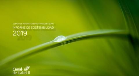 Canal Isabel II refuerza compromiso sostenibilidad gestión ciclo agua