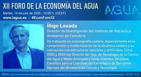 """Íñigo Losada: """" océano ha absorbido 90% calentamiento global"""""""