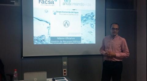 FACSA, Máster Gestión Recursos Hídricos Universitat València