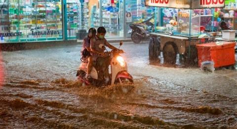 llegada fuertes lluvias Guangdong (China) obliga evacuación 127.000 personas