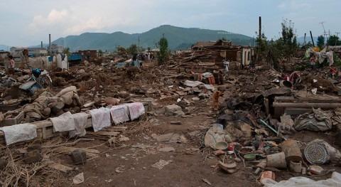 tifón Lionrock deja 27.000 hectáreas tierras cultivables inundadas Corea Norte