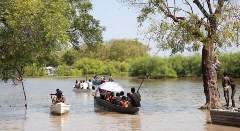 ACNUR alerta que Sudán Sur afronta peores inundaciones décadas