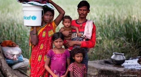 inundaciones devastan India, Bangladesh y Nepal