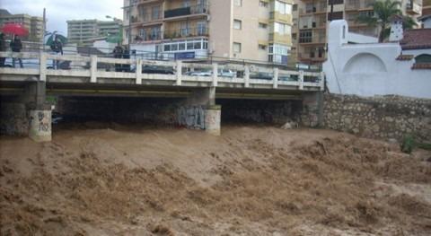 áreas habitadas Málaga, amenaza inundaciones