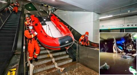 Metro e inundaciones, peligrosa combinación