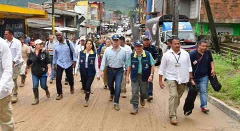 Colombia impulsa acciones apoyar al Sistema Nacional Gestión Riesgo Desastres