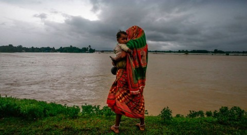 Ascienden 41 millones damnificadas lluvias monzónicas Bangladesh, India y Nepal
