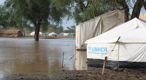 ONU alerta casi 200.000 damnificados inundaciones norte Sudán Sur