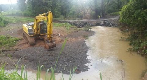 Panamá evalúa puntos afectados inundaciones Arraiján