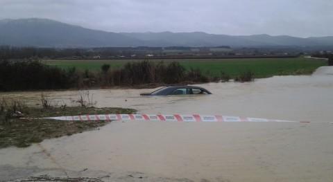 Inundaciones en Navarra.
