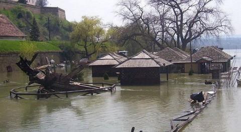 Inundaciones en Serbia.