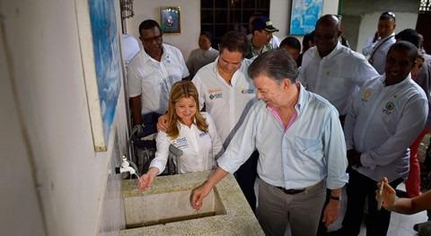Histórica inversión Gobierno colombiano proyectos agua y vivienda Chocó