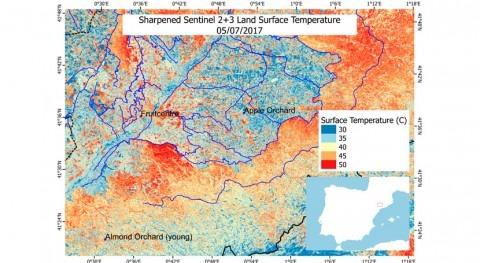 ¿Cómo estimar evapotranspiración vegetación partir datos obtenidos satélite?