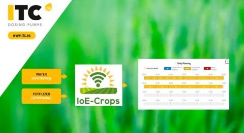 IoE-Crops, agricultura 4.0 ITC Dosing Pumps