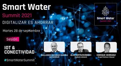 IoT y conectividad guían sector agua más óptimo futuro