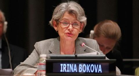 La directora general de la UNESCO, Irina Bokova