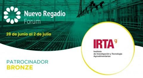 IRTA, instituto investigación agroalimentaria catalán, Bronze Sponsor Nuevo Regadío Forum