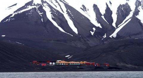 ¿Cuál es papel nieve transporte y acumulación contaminantes Antártida?