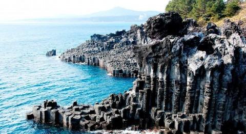 Isla Jeju: agua lava agua dulce tecnología Danfoss
