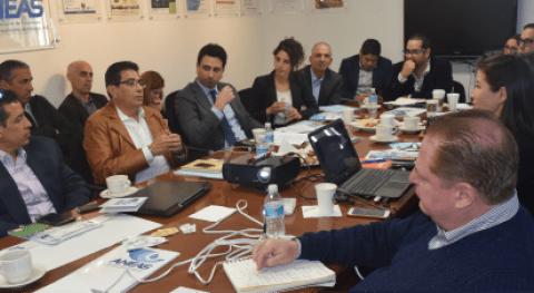 Se reúne ANEAS Embajada Israel México y Misión Comercial