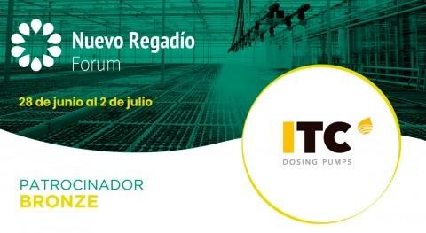 ITC Dosing Pumps, fabricante bombas dosificadoras, Bronze Sponsor Nuevo Regadío Forum