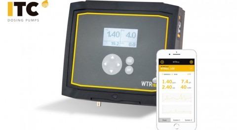 ITC Dosing Pumps presenta APP gama controladores multiparamétricos WTRtec