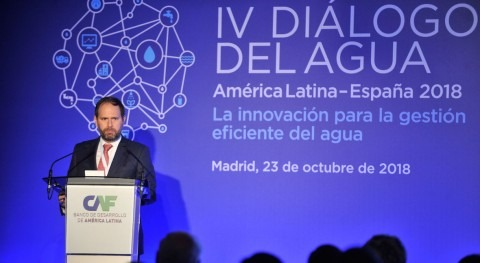 IV Diálogos Agua América Latina España: innovación gestión eficiente agua