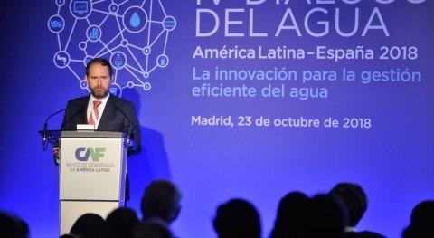 "Julián Suárez: ""América Latina debe hacer esfuerzo inversiones infraestructuras agua"""