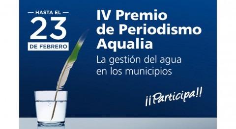 Última semana participar IV Premio Periodismo Aqualia
