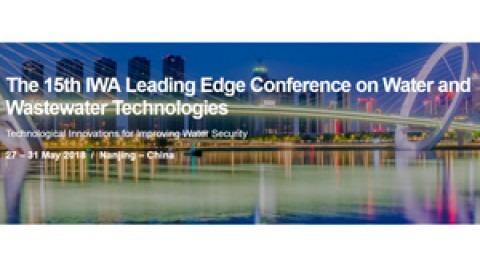 Conferencia IWA Leading Edge tecnologías agua y aguas residuales