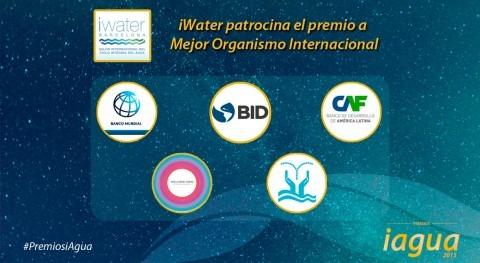 iWater Barcelona patrocina Premio iAgua 2015 Mejor Organismo Internacional