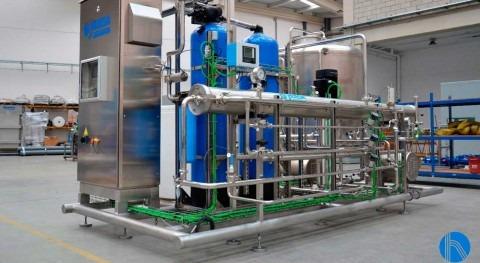 Línea tratamiento limpieza latas sector bebidas